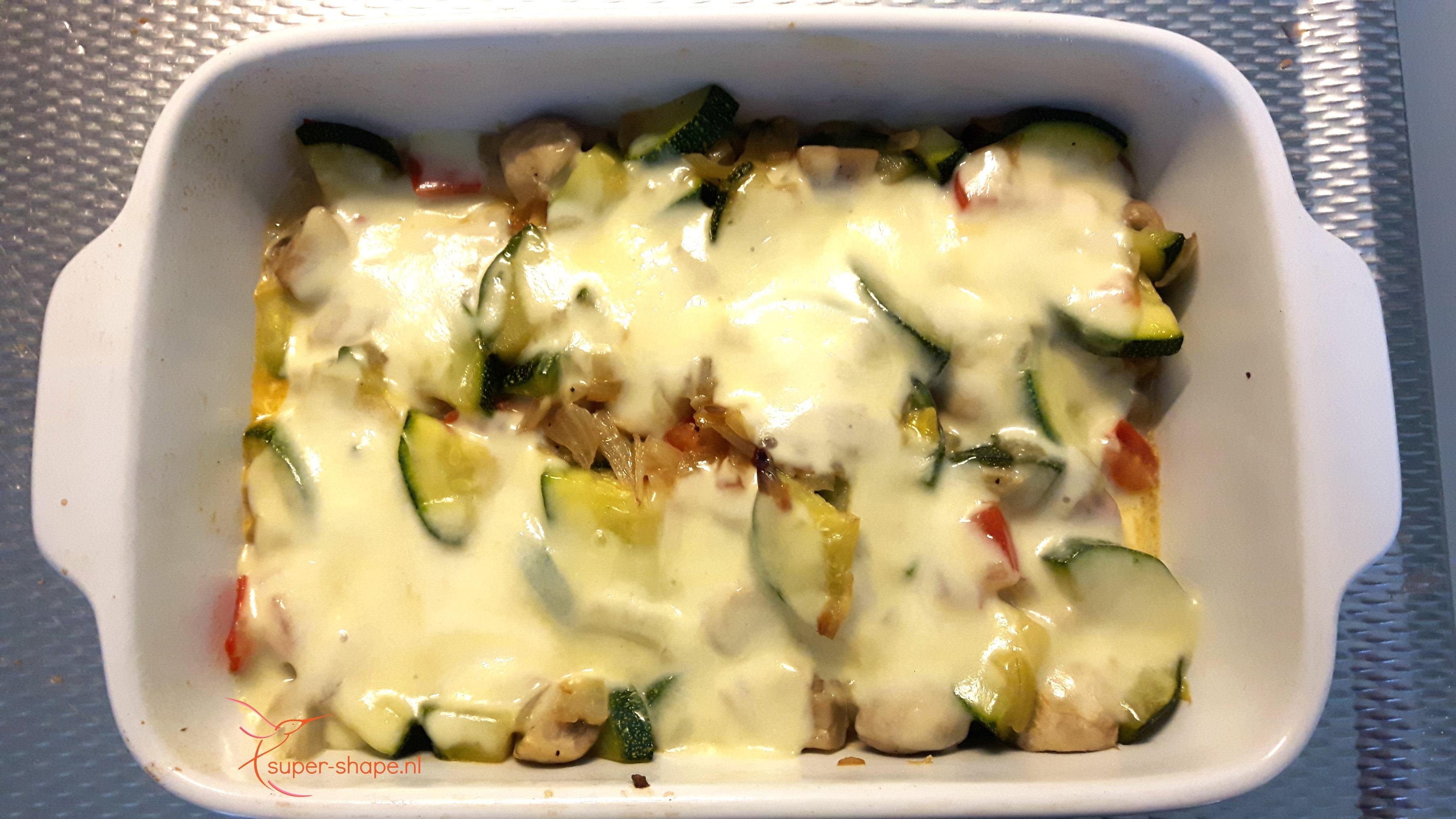Koolhydraatarm vegetarisch recept