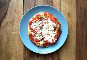 Recept voor koolhydraatarme pizza